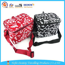 wholesale outdoor flat insulated folding cooler lunch bag