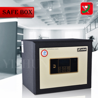Touch panel Safe Box, Keypad white Safe Box ,combination lock safe box With Time Lock and Alarm System