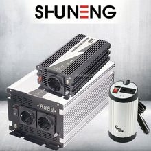 SHUNENG pure or true sine wave power/ solar&wind energy charge inverters/converter/inversor