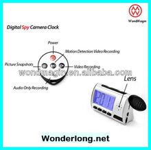 Professional Resolution VGA 640*480 clock hidden camera