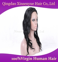 Brazilian human hair natural lace front wigs for beauty