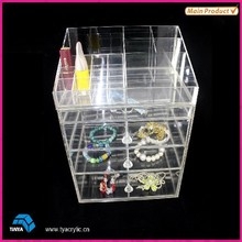 Online Store Bedroom Furniture Deluxe Top Selling Clear Jewelry Display Cabinets