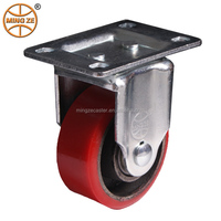 5inch fixed Polyurethane Caster Wheel for hand truck
