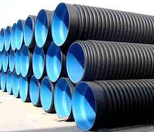 Large Diameter HDPE Corrugated Pipe For Blowdown Pipeline Ground Drainage
