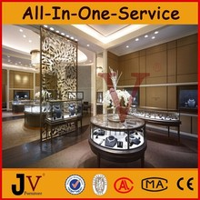 High-end fashion jewellery store furniture for showroom display
