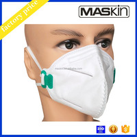 flat fold disposable respirator mask n95
