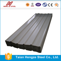 Colorful Corrugated Metal Sheet / stone coated steel roofing panels / Sand Stone Coated Copper Roof