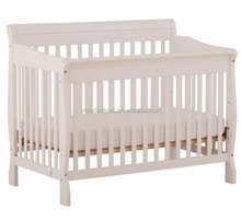 american styled convertible round crib, solid wood new born baby bed bf07-70267