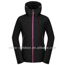 moda de alta calidad 2014 softshell chaqueta para mujer