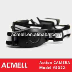 Portable long time recording hd mini cam sport helmet