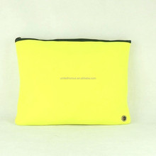 2015 OEM soft neoprene plain laptop sleeve bags AT09 from Guangzhou factory