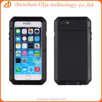 Metal Aluminum Shockproof Gorilla Glass waterproof case for iphone 4, for iphone 4s waterproof case, for iphone 4 case