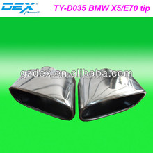 car part racing tuning performance universal exhaust muffler tip for BMW X5 / E70