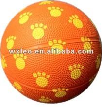 children play basketball