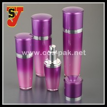30ml 50ml 80ml 120ml classical high clear taper acrylic cosmetic bottle