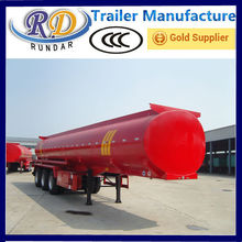 Top quality hot sell 60m3 oil tanker truck trailer for sale