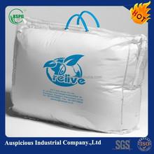 Transparent damp-proof quilt storage bag