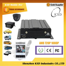 KXD AHD4F 4 channel mini mobile dvr Turkish language menu