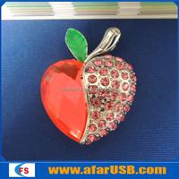 Jewelry heart USB flash drive sticks, 2GB Heart shape USB disk,Jewelry heart shape USB