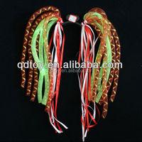 New year party custom patentable noodle flower baby sport flashing LED head bopper/headband