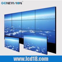 "60"" ultra original panel narrow bezel lcd video wall,big advertising display lcd screen"