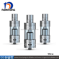 2015 New product ideas smoktech best e cigarette tank tfv4 with four kinds of replaced coils tf-q4,tf-t3,tf-r1,tf-r2