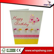 Handmade Birthday Greeting Card/Decoration Greeting Card