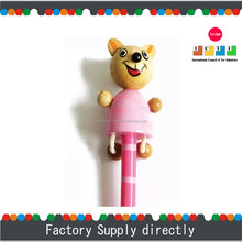 New Colorful Pensonalized Animal Wooden Pencil