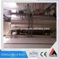 Industrial Stainless Steel Steam Milk Can Boiler