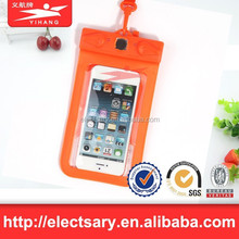 Universal waterproof phone case cover For Apple iPhone 6, 5s, 5, for Galaxy S5, S4 S3, for Galaxy Note 3, MP3 Player