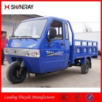 Shineray 150cc 200cc 250cc 300cc Water Cooling Heavy Loading Capacity Cargo Tricycle With Closed Body