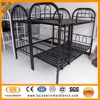 High quality heavy duty design powder coated steel metal bunk bed price