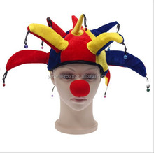 Hot selling Red Nose and cap for Fancy Party /Clown /Halloween
