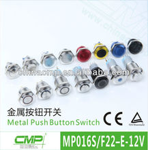 16mm Push Button Micro Switch With LED