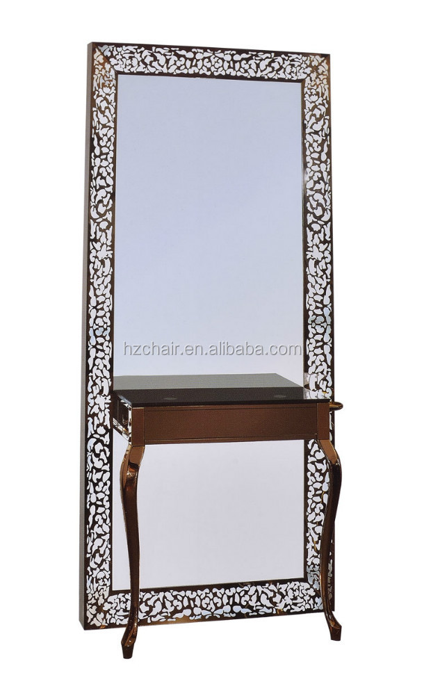 stylish hair salon fancy mirror with light buy beauty salon mirrors. Black Bedroom Furniture Sets. Home Design Ideas