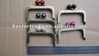 Fashion square 8.5CM smooth candy screw metal purse frame ( purse frames wholesale ,handbag frame)