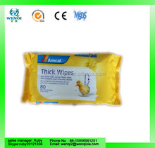 eco-friendly 72 pcs baby cleaning wet cloth