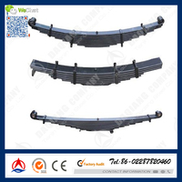 SUP10 different types of heavy duty truck parabolic leaf spring