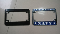 License plate frame motorcycle