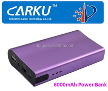 Best selling 6000mAh 14V10A, 5V2A Input power bank / portable phone charger