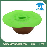 Adjustable big size Silicone cooking pot lid made of silicone