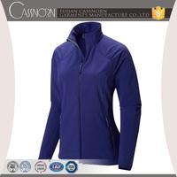 latest custom design windsmart technology blue softshell jacket