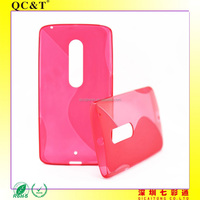 S Style Soft TPU Clear Phone Case For Motorola