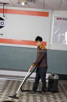Industrial heavy duty dry wet vacuum cleaner