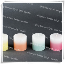 Hot sale Craft gradient Decorative ,Free sample is available,OEM &ODM accepted,Paraffin Wax or Soy Wax or Palm Wax