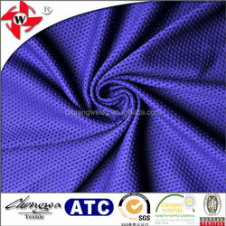 Knitted Polyester Spandex Stretch Mesh Fabric