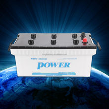 High Quality Super Power lead acid dry charged N200 12v 200ah Batteries for truck/lorry