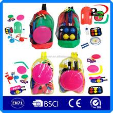 plastic play game set /plastic puzzle game/bingo game set