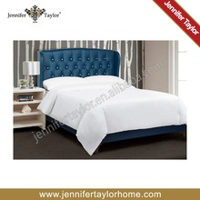Prince solid wood leather bed 2015 hot sell bed