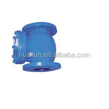 Ductile iron/cast iron flanged ends swing check valves